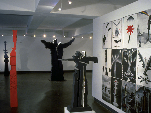 Adrian Mauriks Recent Works at William Mora Galleries, 1989